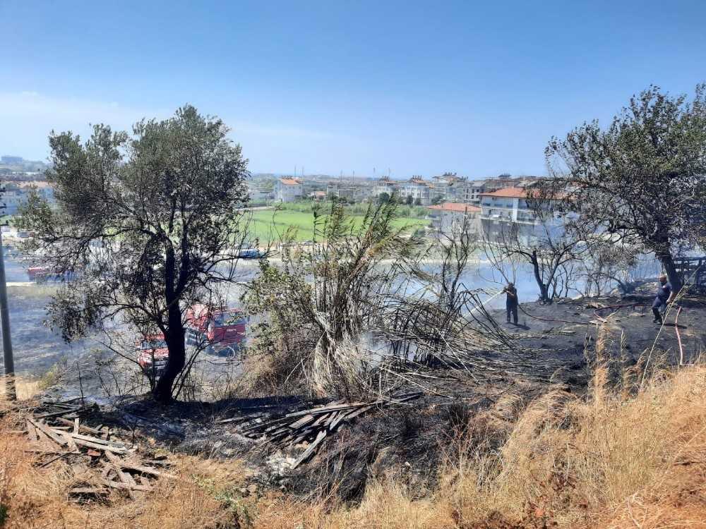 Manavgat Ilıca'da korkutan orman yangını