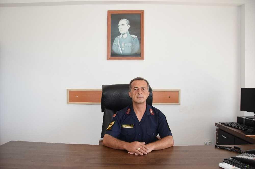 Mavikonak Jandarma Karakol Komutanlığı'na atanan Demirkılıç, görevine başladı
