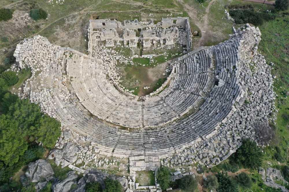 Patara antik kentinde senfonik ezgiler