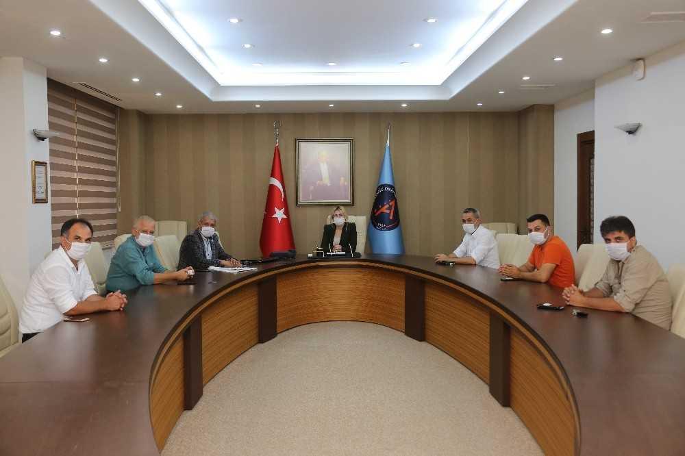 Rektör Prof. Dr. Özlenen Özkan, AGC'yi ağırladı