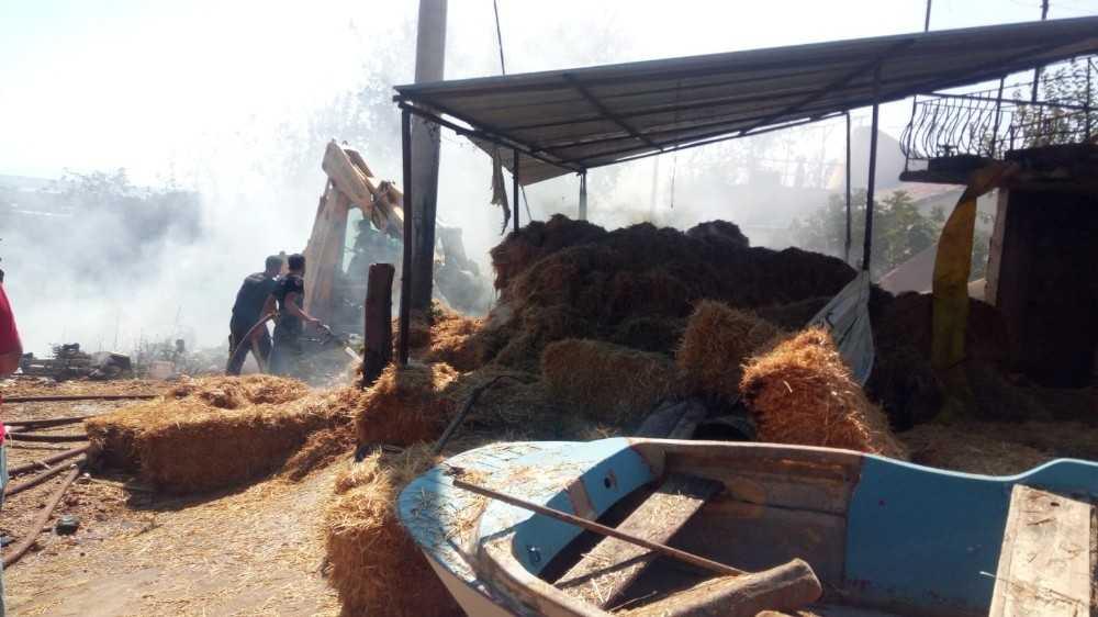 Serik'te ormanlık alana yakın bölgedeki yangın kontrol altına alındı