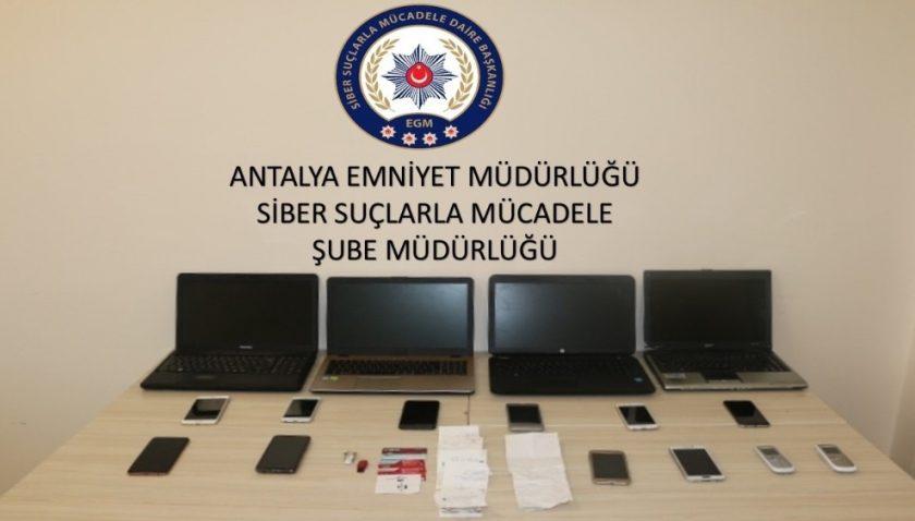 Sosyal medyadan 1 milyon TL'lik vurgun yapan şüpheliler yakalandı