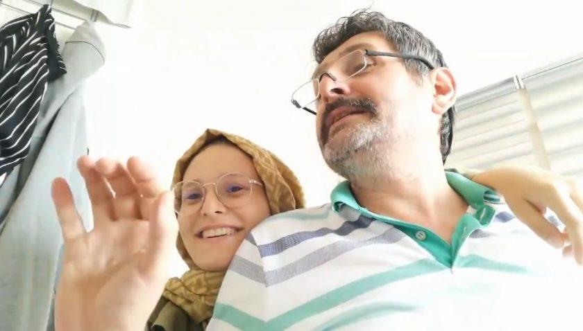 YKS sonucunu aynı anda öğrenen baba ve kızının sevinci milyonları duygulandırdı