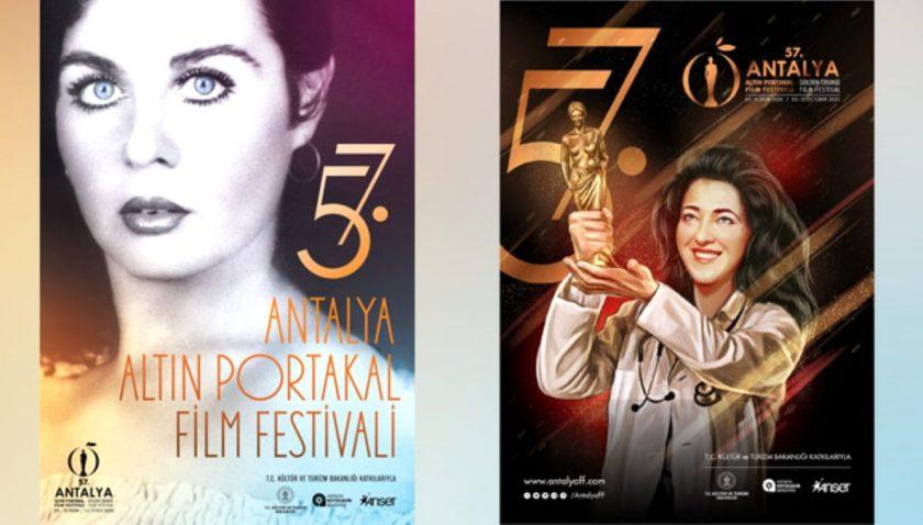 57. Antalya Altın Portakal Film Festivali iki afişle çıkıyor