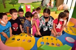 Antalya Bilim Merkezi kreş öğrencilerini misafir etti