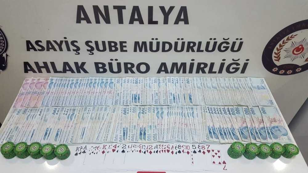 Antalya'da kumar oynama, sosyal mesafe ve maske ihlaline 905 bin lira ceza