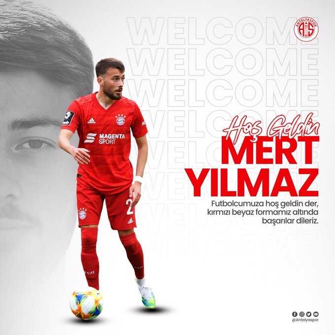 Antalyaspor, Mert Yılmaz'ı kadrosuna kattı