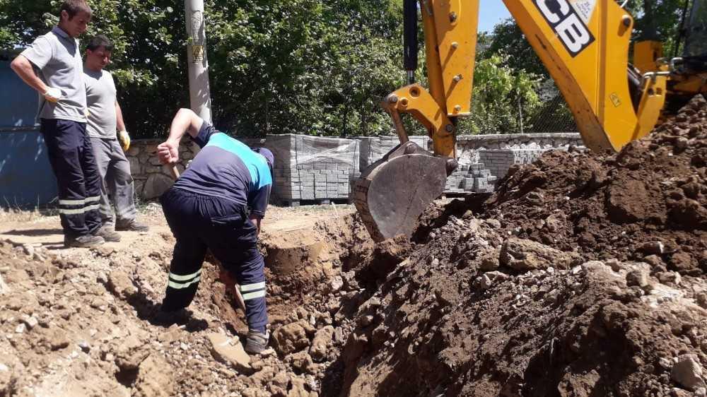 ASAT'tan Ormana'da kanalizasyon çalışması