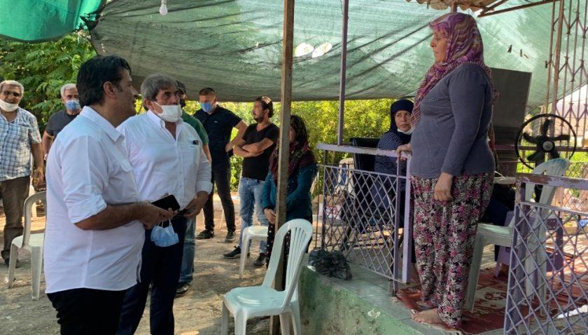 Başkan Genç'ten başpehlivanın ailesine taziye ziyareti