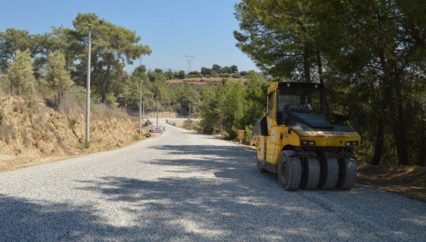 Büyükşehir'den Manavgat'ta asfalt seferberliği