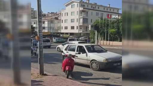Çıkan kavgada cadde savaş alanına döndü: 2 yaralı, 4 gözaltı