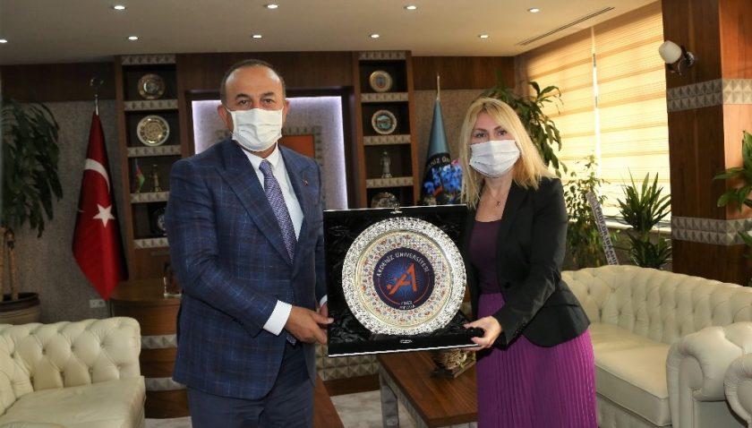 Dışişleri Bakanı Çavuşoğlu'ndan AÜ projelerine tam destek sözü