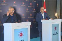 Dışişleri Bakanı Mevlüt Çavuşoğlu, Maltalı mevkidaşı Evarist Bartolo ile ortak basın toplantısı düzenledi