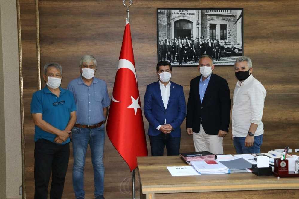 Gençlik Hizmetleri ve Spor İl Müdürü Gürhan, TSYD yönetimini ağırladı