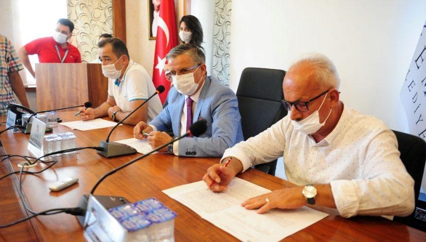 Kemer Belediyesi Eylül ayı meclis toplantısı gerçekleştirildi