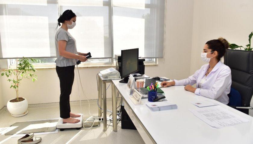 Kepez Tıp Merkezi, 8 ayda 1337 kişiye diyetisyen hizmeti sundu