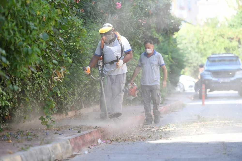 Konyaaltı sokakları pırıl pırıl