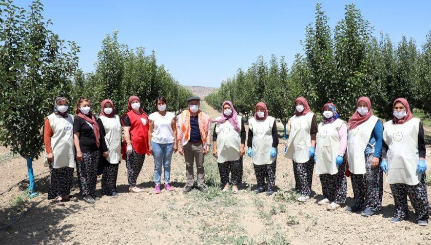 KORKOOP kadınları ürettikleriyle aile bütçelerine katkı sağlıyor