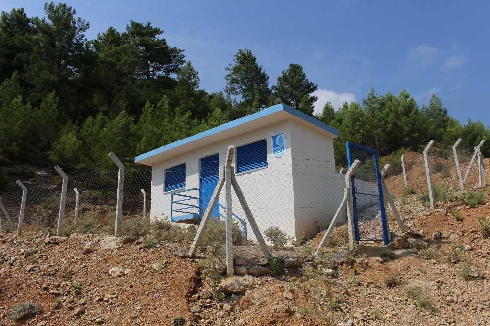 Manavgat'ta 10 mahalleye içme suyu deposu yapılıyor