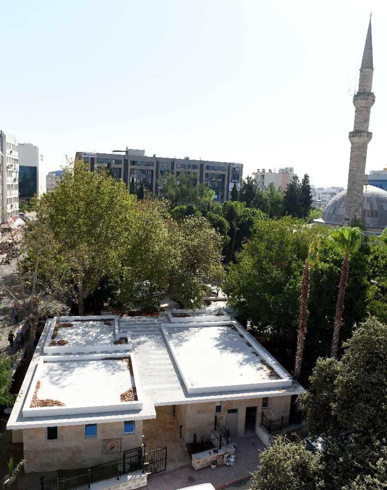Muratpaşa Camii müştemilatı yarın açılıyor