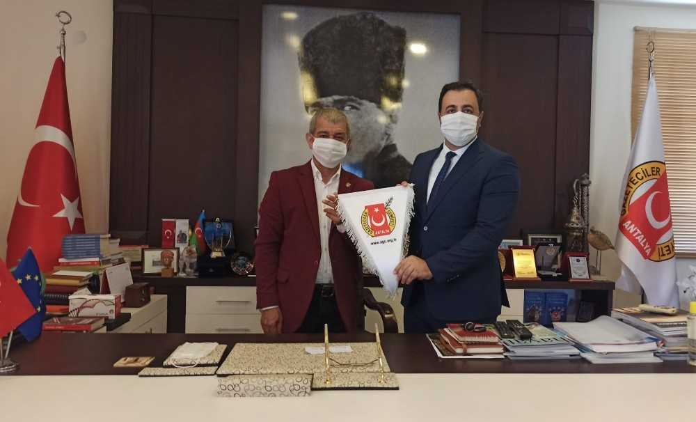 Rektör Kalan, Antalya'da STK temsilcileriyle buluştu