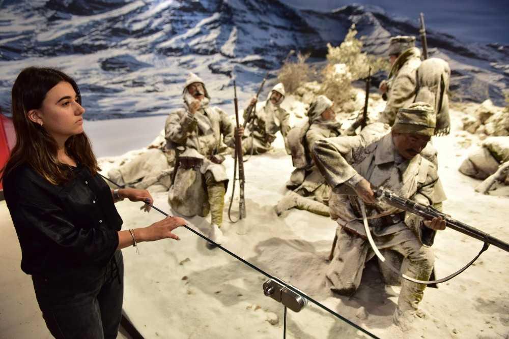 Sarıkamış Sergisi Anadolu Şehitler Müzesi'nde