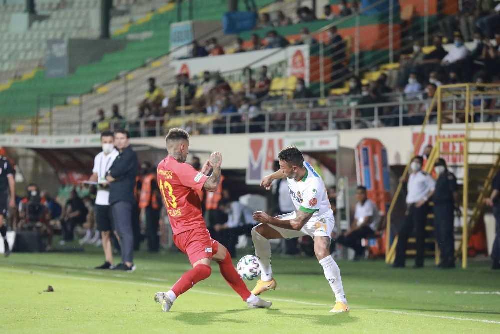 Süper Lig: Aytemiz Alanyaspor: 2 – Hes Kablo Kayserispor: 0 (Maç sonucu)