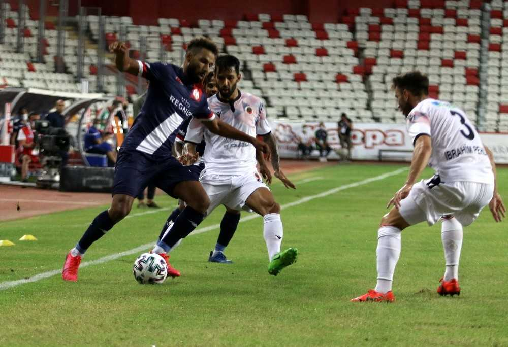 Süper Lig: Fraport TAV Antalyaspor: 1 – Gençlerbirliği: 0 (İlk yarı)