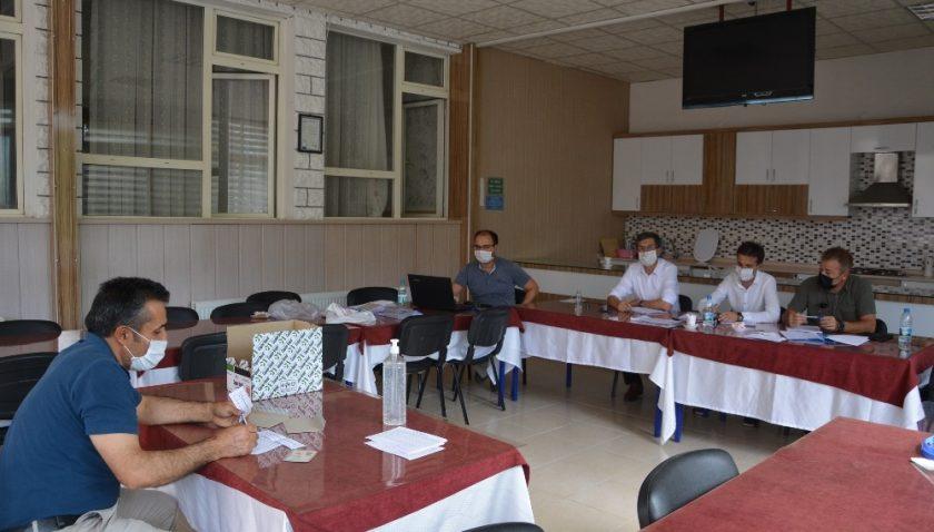 Toplum Yararı Projesi kapsamında 72 personel için mülakat yapıldı