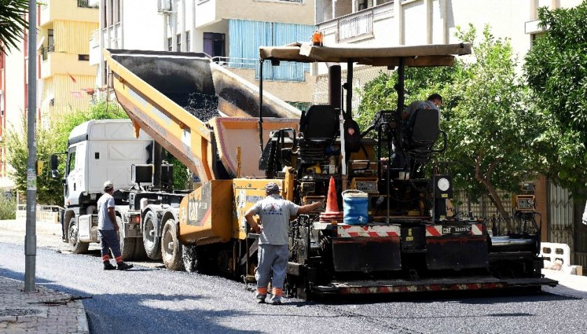Zerdalilik'te tüm sokaklar yenilendi