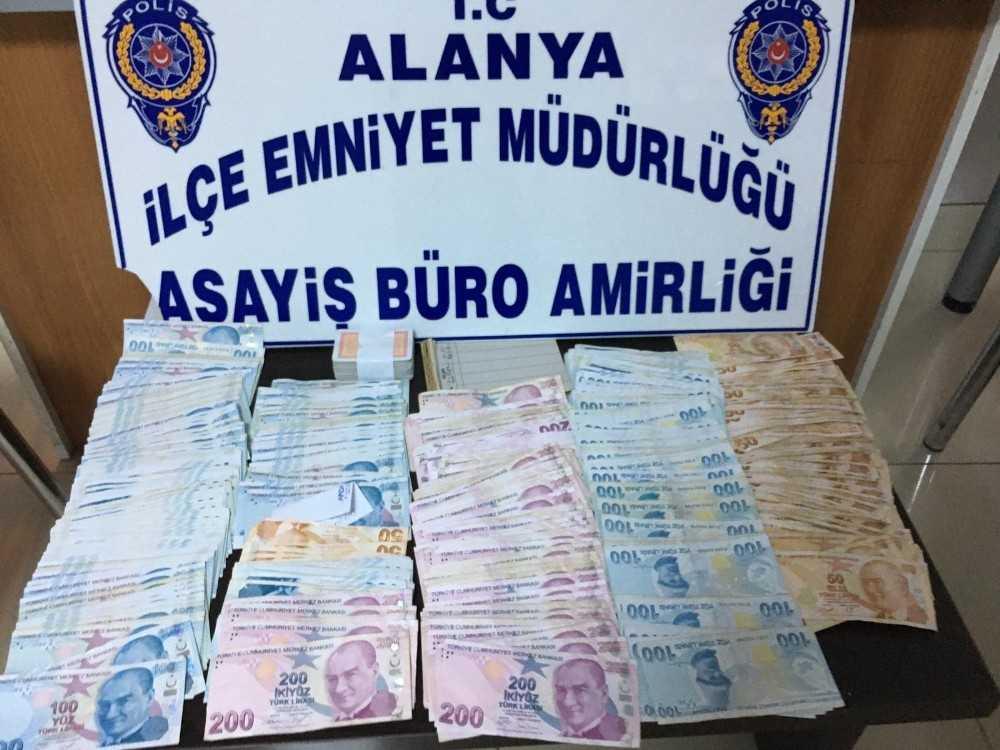 Alanya'da kumar baskınına 25 bin TL para cezası: 6 gözaltı