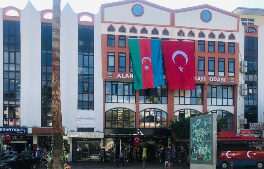 ALTSO'dan Azerbaycan'a bayraklı destek