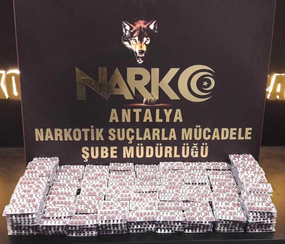 Antalya'da geniş kapsamlı uyuşturucu operasyonu