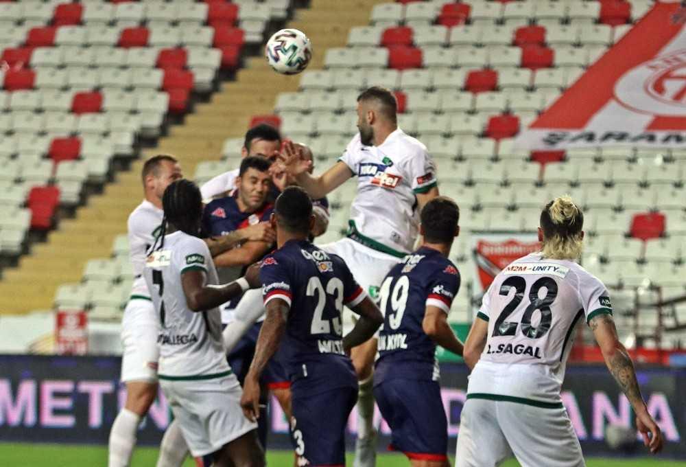 Antalyaspor'da Serdar ve Drole ilk yarıyı kapattı