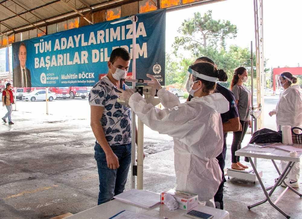 Büyükşehir Belediyesi İtfaiye Eri sınavlarına başvurular başladı
