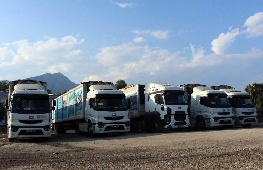 Büyükşehir, Kemer'den 10 ayda 26 bin 371 ton çöp transfer etti