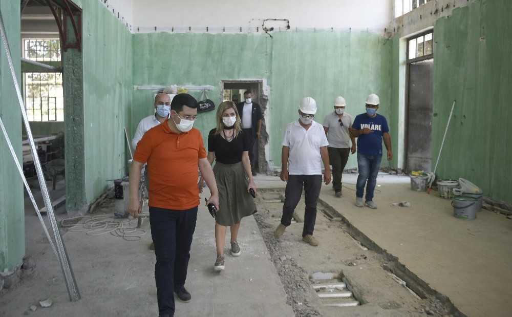 Cemil Meriç Müze Kütüphanesi hızla tamamlanıyor