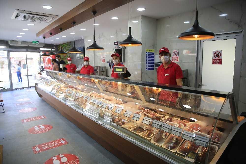 Halk Et'in dördüncü mağazası Serik'te hizmete açıldı