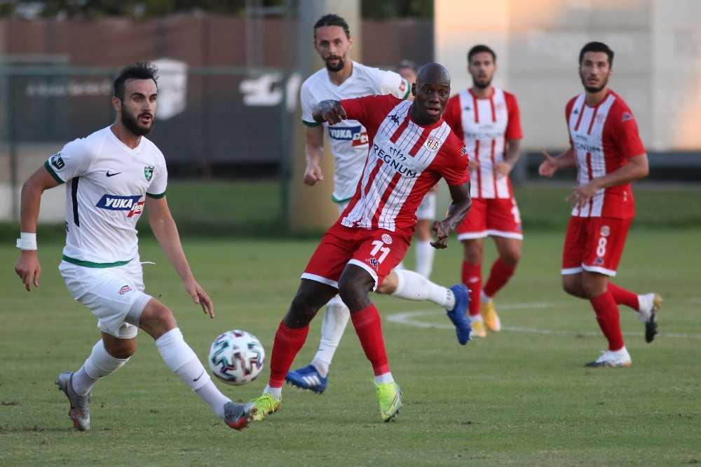 Hazırlık maçı: Antalyaspor: 1 – Denizlispor: 1