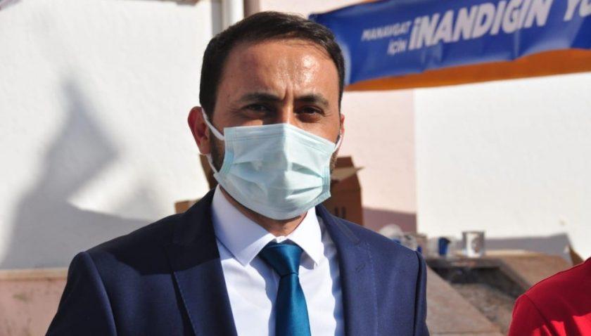 Manavgat Ak Parti'de Halimoğlu güven tazeledi