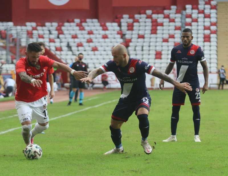 Süper Lig: FT Antalyaspor: 1 – Gaziantep FK: 1 (Maç sonucu)
