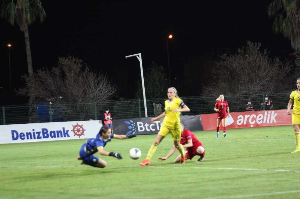 UEFA Kadınlar Avrupa Şampiyonası: Türkiye:0 – Kosova: 0