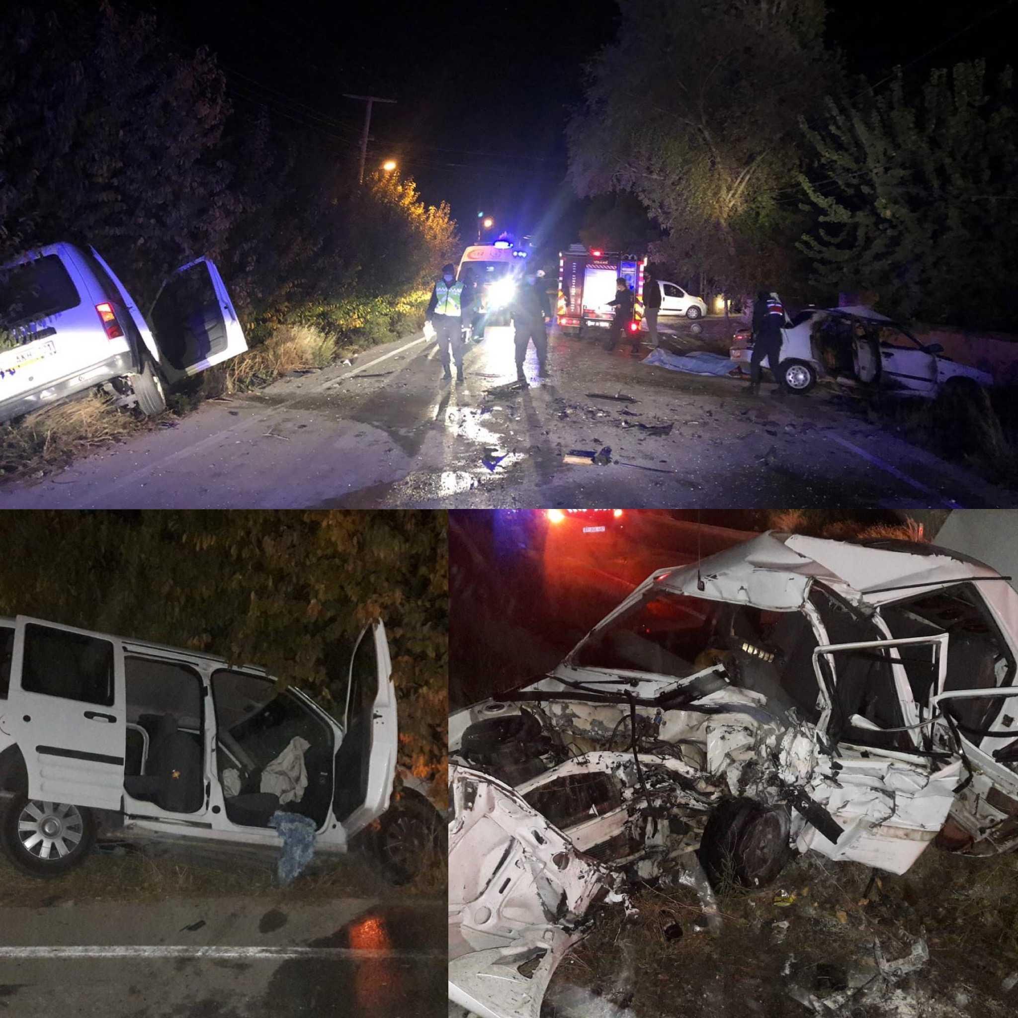 Antalya'da feci kaza: 3 ölü, 2 yaralı