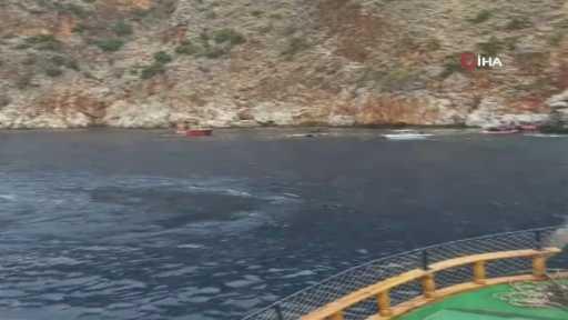 – Alanya'da tur teknesi alabora oldu: 1 ölü