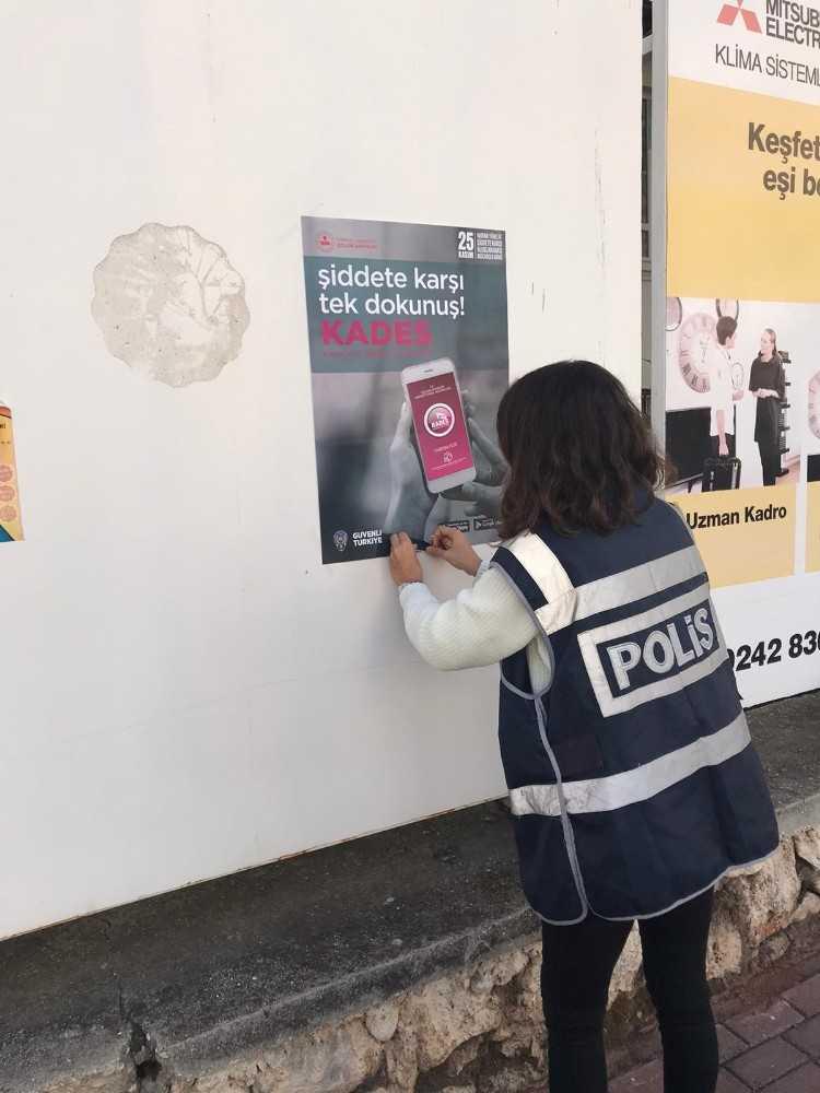 Antalya'da Kadın Destek Uygulaması