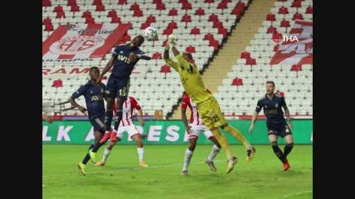 Antalyaspor  – Fenerbahçe maçından kareler -2-