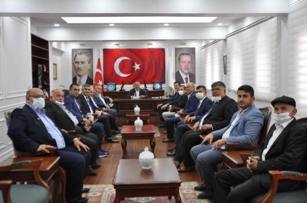 Başkan Ulutaş'tan kardeş şehir Şırnak'a iade-i ziyaret