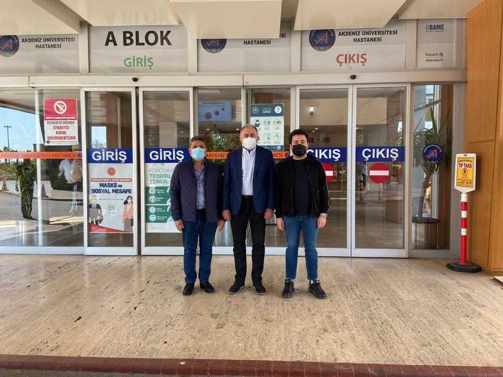 Başkanvekili Hacıarifoğlu, Başkan Böcek'i ziyaret etti