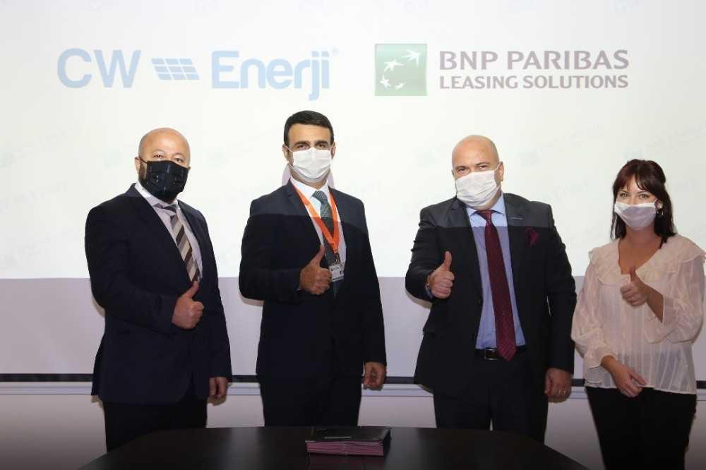 CW Enerji'den Çatı GES projeleri için iş birliği