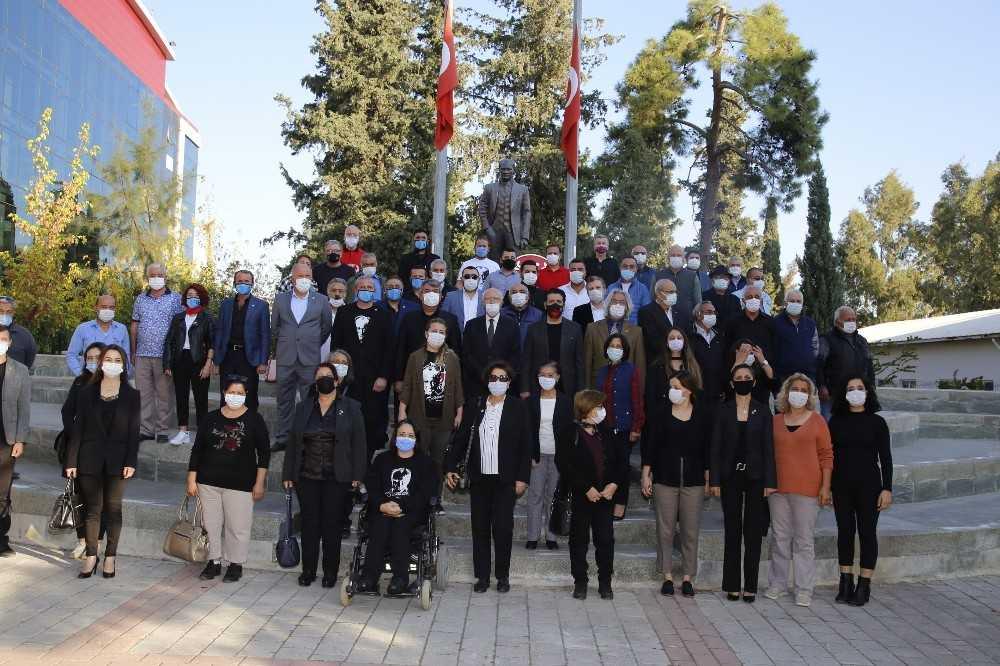 Döşemealtı'nda 10 Kasım Atatürk'ü anma töreni